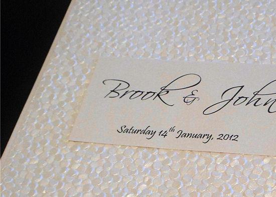 Handmade Wedding Invitations 2
