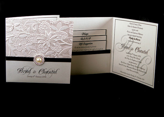 Elegant Wedding Invitations 3