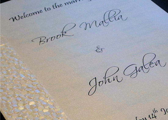 Handmade Wedding Invitations 1