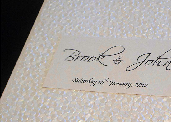 Handmade Wedding Invitations 2