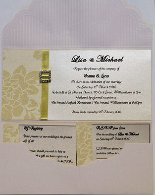 Pocket Wedding Invitations 7