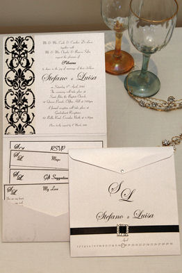 Pocket Wedding Invitations 8