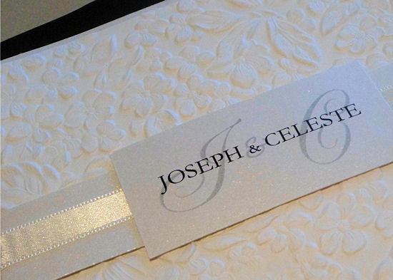 designer wedding invitations 1