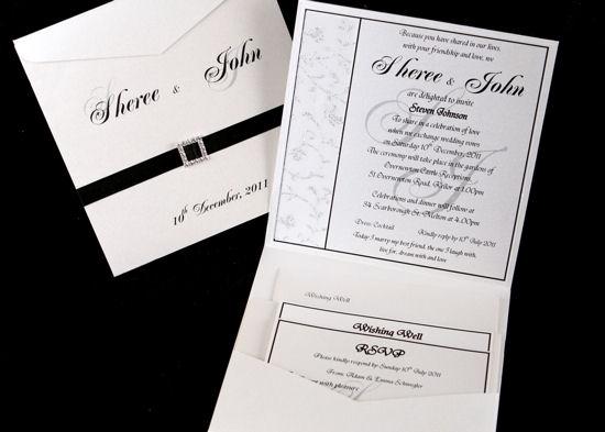 Formal Wedding Invitations 3