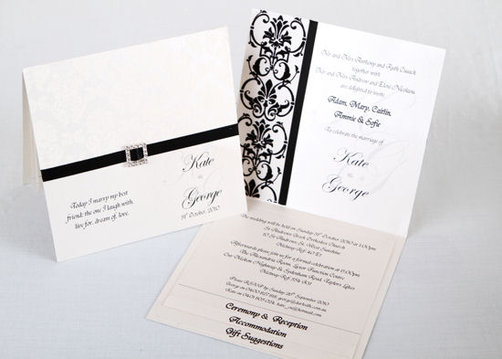Formal Wedding Invitations  Events on Paper