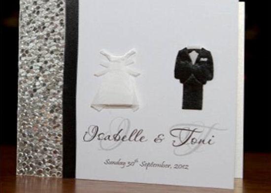 custom wedding invitation 2