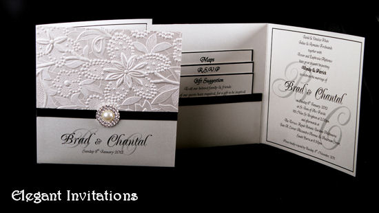 View Elegant Wedding Invitations
