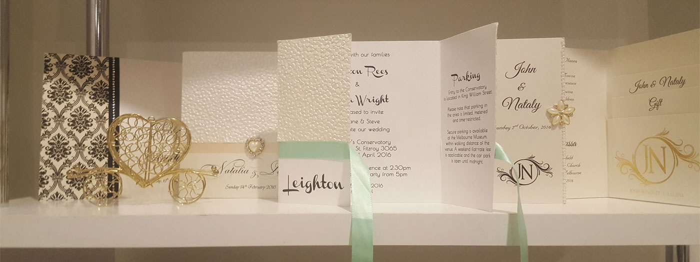 Events on Paper - Wedding Invitations Melbourne | Events ...